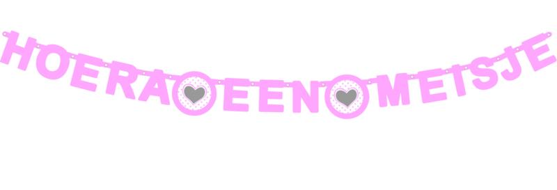 Wensletterlijn Star/Hart roze
