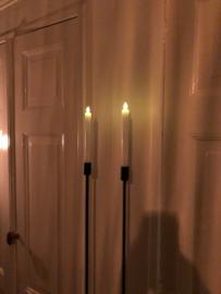 Wax kaarsen op batterij