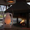 Stormlantaarn flame effect 22 cm Mini