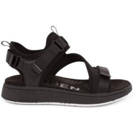 Woden sandaal Emillie black