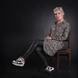 Dress kort zebra