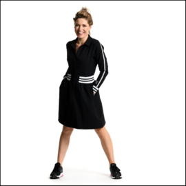 Dress black jersey