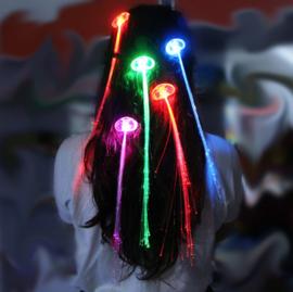 LED haarclip, 2 stuks