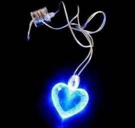 LED ketting - Hart
