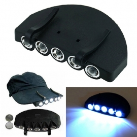 LED cap light - Clip