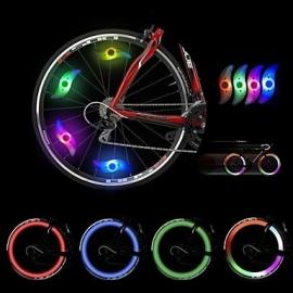 LED fietswielverlichting - per 2 stuks