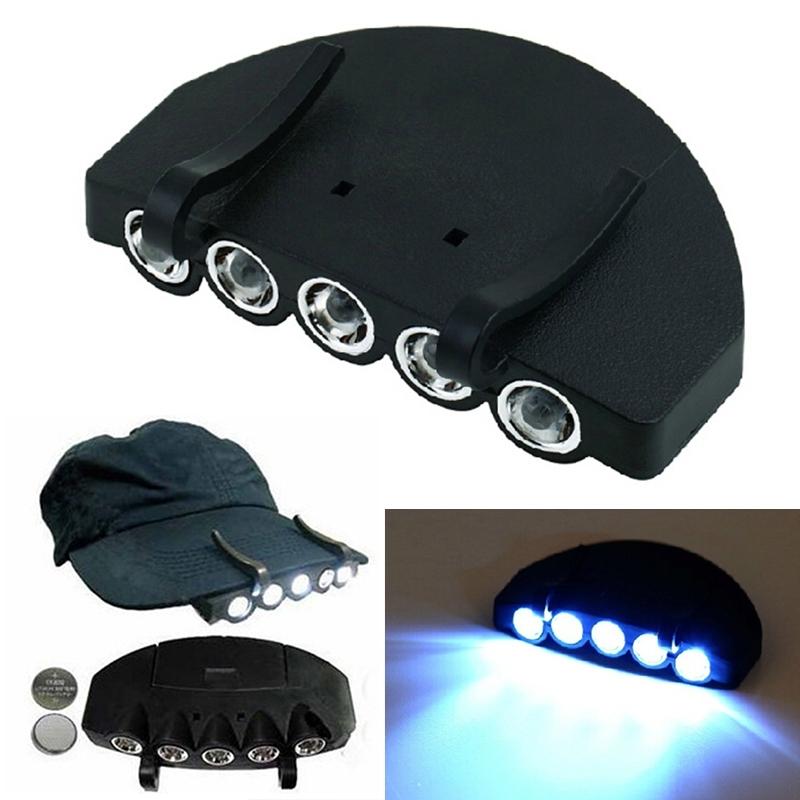 LED cap light - Clip