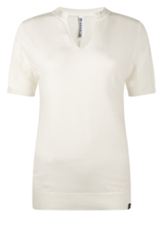 Zoso knitted fancy turle neck Emmy off white