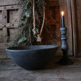 """Stenen bowl """"antraciet""""(Ø31,5 cm)"""