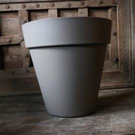 """Kunststof pot """"Taupe"""" (Ø 34 cm)"""