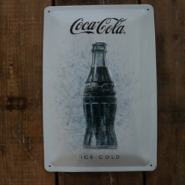"Coca Cola Original ""Ice white"" (20x30 cm)"