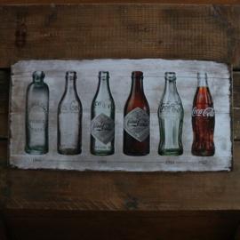 "Coca Cola Original ""timeline"" (25x50 cm)"