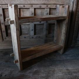 Teak houten wandrek (Br. 50 cm.)