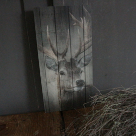 "Decobord ""Hertje"" (18x30 cm) 2"