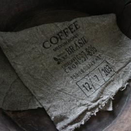 "Shabby linnen  ""Coffee""(30x45 cm)"
