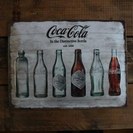 "Coca Cola Original ""timeline"" (30x40 cm)"