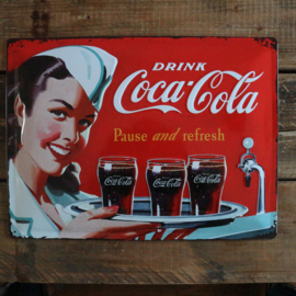 """Coca Cola Original """"1960"""" (30x40 cm)"""