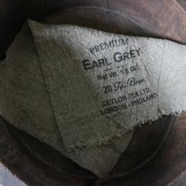 "Shabby linnen  ""Earl Grey""(30x45 cm)"