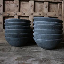 """Stenen bowl """"antraciet""""(Ø27 cm)"""