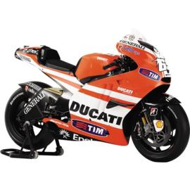 1;18<>DUCATI DESMO GP11  MotoGP 2011 - Nicky Hayden #69 + Intro.