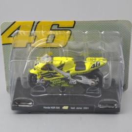 "1;18<>#46 - HONDA NSR 500, MotoGP 2001  ""TEST JEREZ"". Valentino Rossi #46"