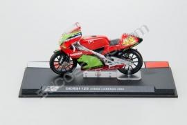 1;24<>DERBI 125 cc     GP 2004 Jorge Lorenzo #48