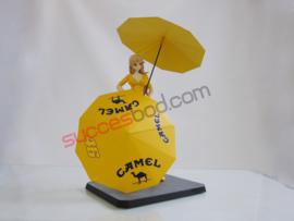 "1;12<>FIGURINE  ""CAMEL""  PADDOCK GIRL MotoGP  2006 (Tobacco)  art."