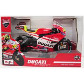 1;18<>DUCATI DESMO GP11 - MotoGP 2011 Valentino Rossi #46 + Intro