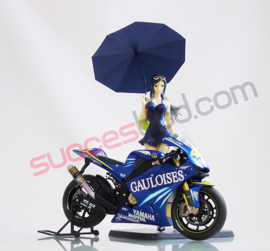 "1;12<> SET - MotoGP 2004 - YAMAHA YZR-M1  ""TOBACCO"" + GRID-GIRL  set #121"