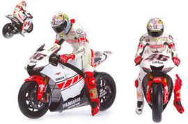 "1;12<>SET -  YAMAHA YZR-M1 + FIGURINE - MotoGP 2005 ""VALENCIA""   Rossi #46"