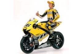 "1;12<>SET - YAMAHA YZR-M1 + FIGURINE - MotoGP 2005 ""Laguna Seca"" - Rossi #46"