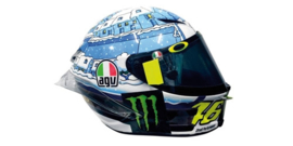 "1:08<>Helmet mc399170076  - ROSSI  -  GP 2017   ""Test Sepang"""