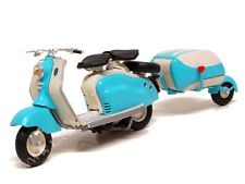 1;18<>LAMBRETTA - LD125 - 1956 scooter+trailer