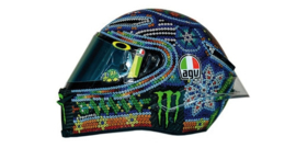 "1;08<>HELMET  mc399180076 . ROSSI . GP2018 ""Wintertest"""