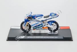 1;24<>APRILIA RSW 125cc     GP 2005  Hector Faubel #55
