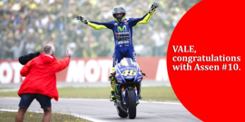 "1;12<>YAMAHA YZR-M1  MotoGP 2017 ""WIN ASSEN"" Rossi + FIG. mc122173146"