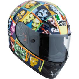 """1;02<> Helmet. mc328100096.  ROSSI GP 2010 """" FACES""""."""