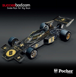 1:08<>LOTUS 72D - British GP 1972 - Emerson Fittipaldi - Fomula One - HK114