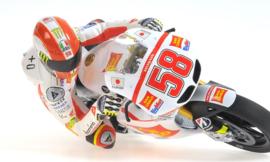 "1;12<>MARCO SIMONCELLI  ""HANGING OFF""  MotoGP 2011  mc312110158"