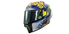 "1;08<>Helmet AGV - mc399180096  -  MotoGP 2018 ""MISANO"" -V.ROSSI #46"