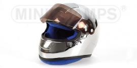 """1;02<>Helmet . mc326020000.  Chromed """"F-1""""."""