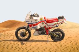 """1;09<>YAMAHA  """"TENERE 660cc"""" - Paris-Dakar Rally 1986 - ITALERI (Protar model)"""
