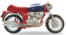 """1;06<>MV AGUSTA 750S - 4 cylinder - """"THE TRADITIONAL"""" - year 1972"""