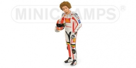 "1;12<>MARCO SIMONCELLI MotoGP 2011 ""Posing"".  mc312110258"