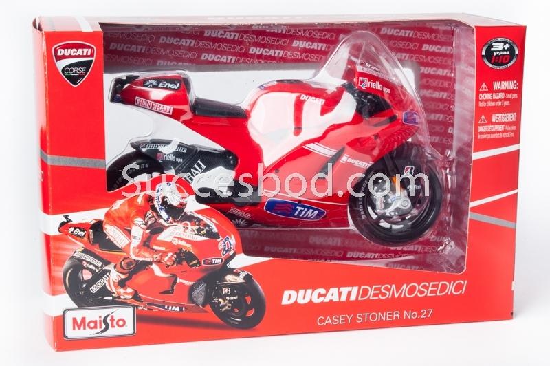 1;10<>DUCATI DESMO GP10 -  STONER #27 GP2010