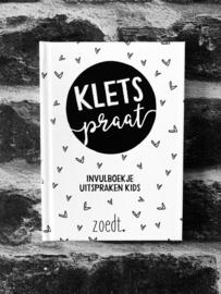 Invulboekje Kletspraat | Zoedt