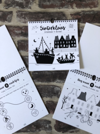 Sint-aftelkalender en doe boek - Zoedt