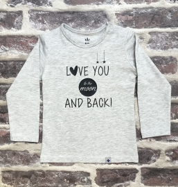 Shirt Love you to the moon and back