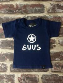 Geboorte-shirt met naam 2-zijdig!