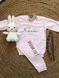 Pyjama met naam | SOFTPINK